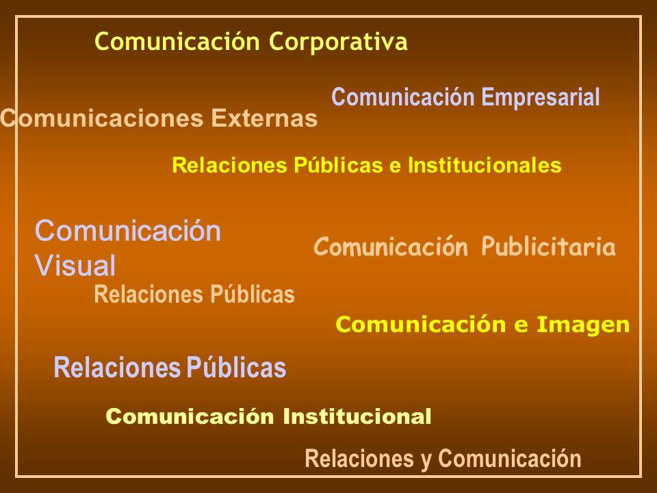 Comunicación Visual Relaciones Públicas Comunicación Corporativa