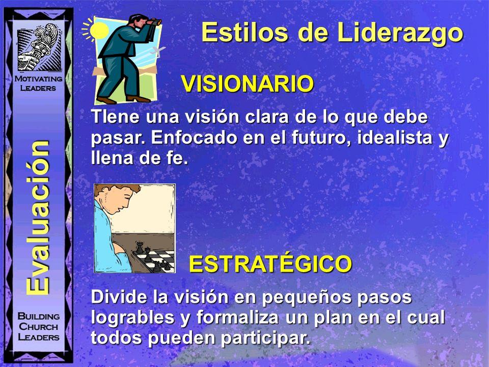 Evaluación Estilos de Liderazgo VISIONARIO ESTRATÉGICO