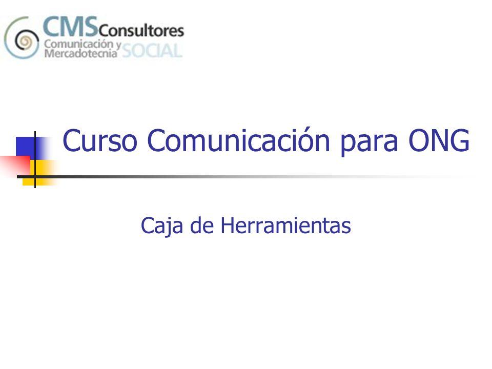 Curso Comunicación para ONG