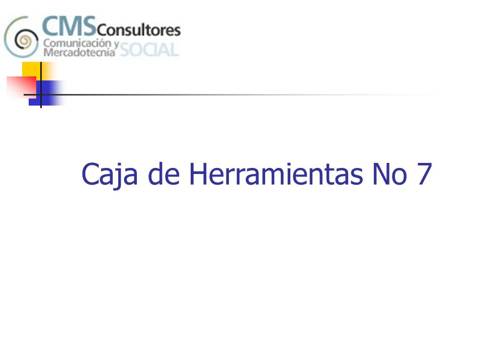 Caja de Herramientas No 7