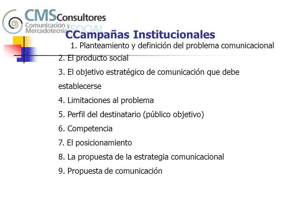 CCampañas Institucionales
