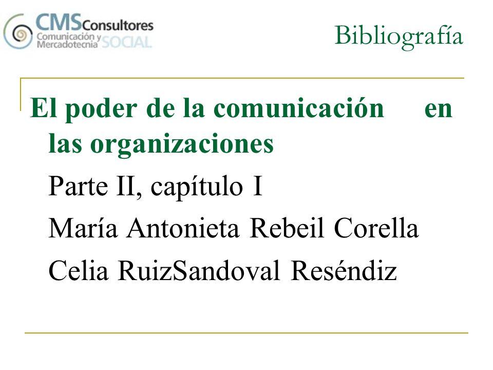 El poder de la comunicación en las organizaciones Parte II, capítulo I
