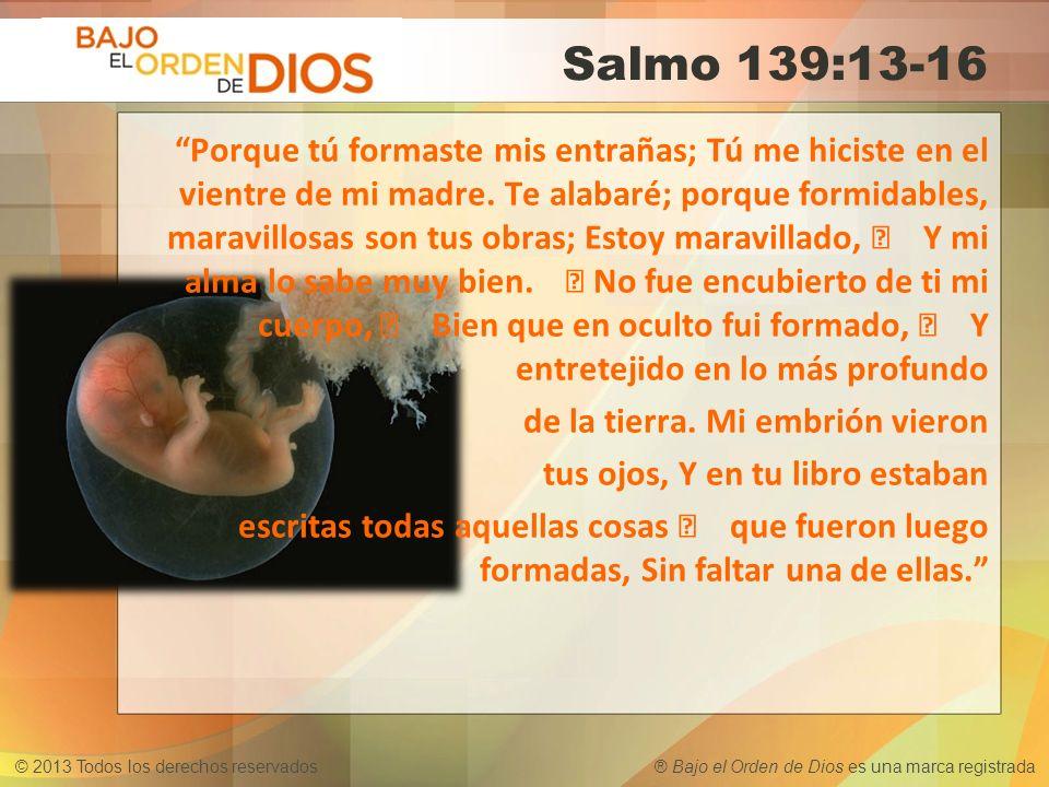 Salmo 139:13-16