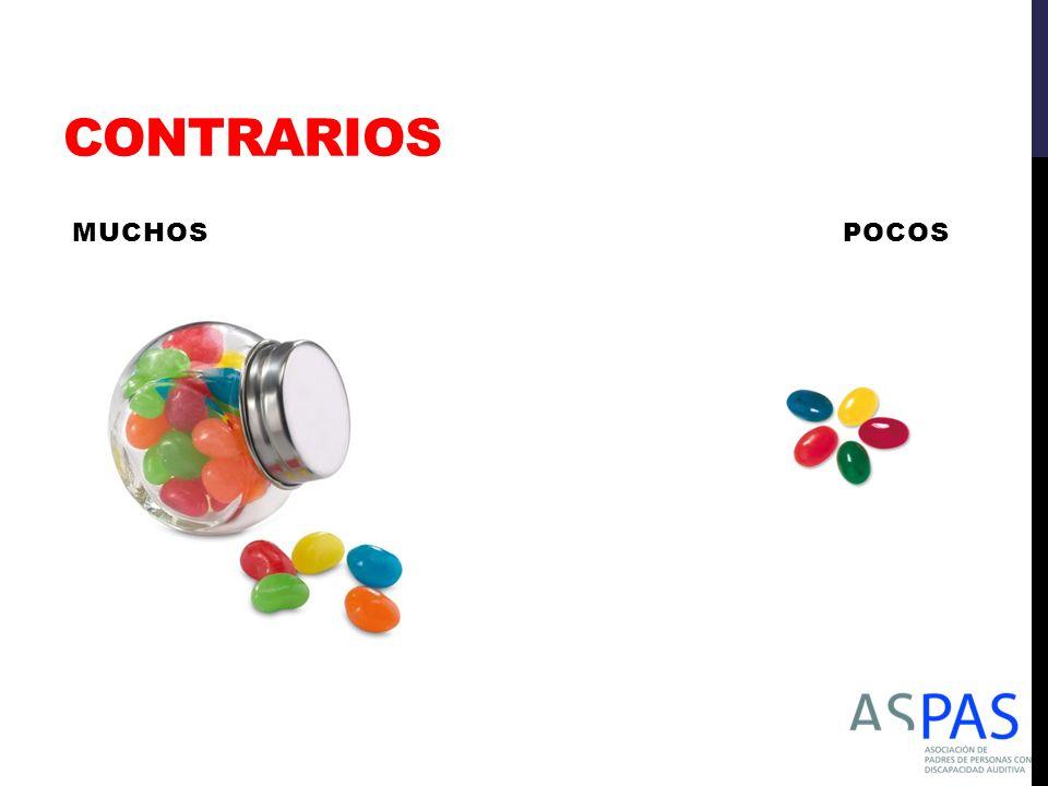 CONTRARIOS MUCHOS POCOS