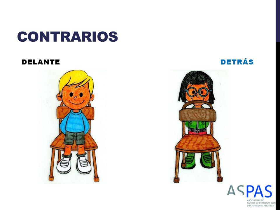 CONTRARIOS DELANTE DETRÁS