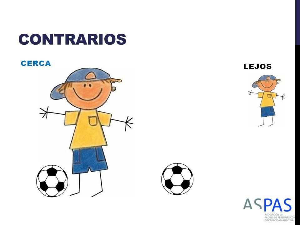 CONTRARIOS CERCA LEJOS