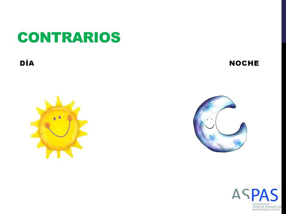 CONTRARIOS DÍA NOCHE