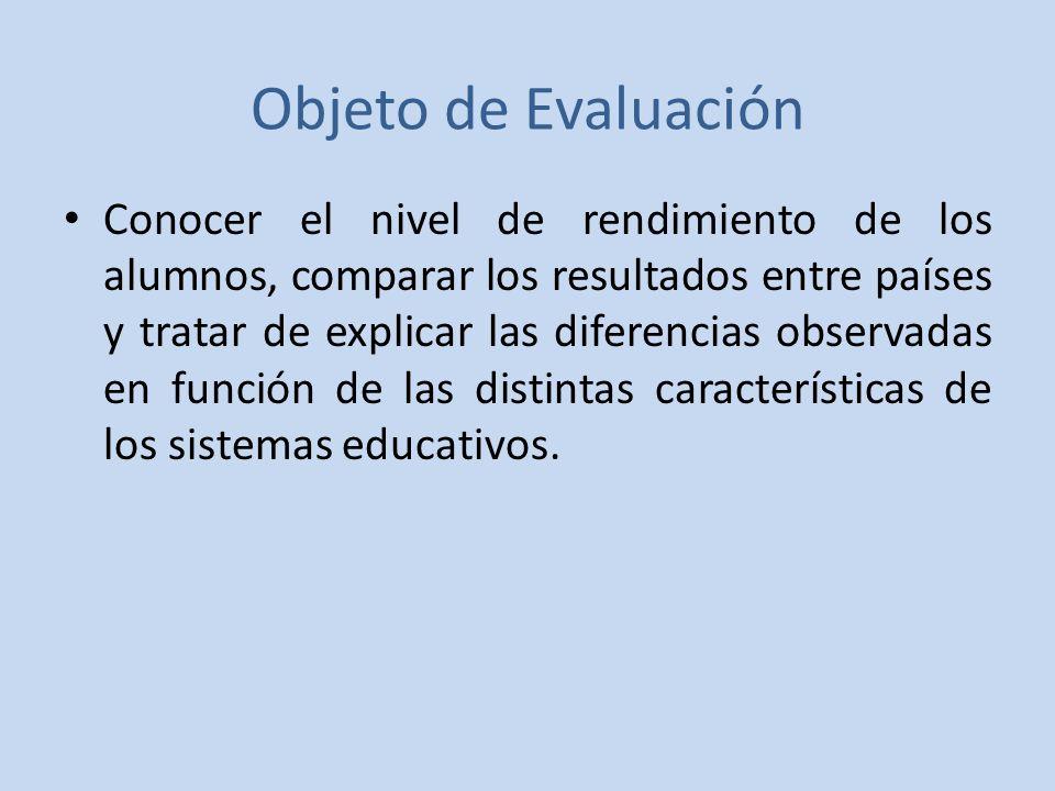 Objeto de Evaluación