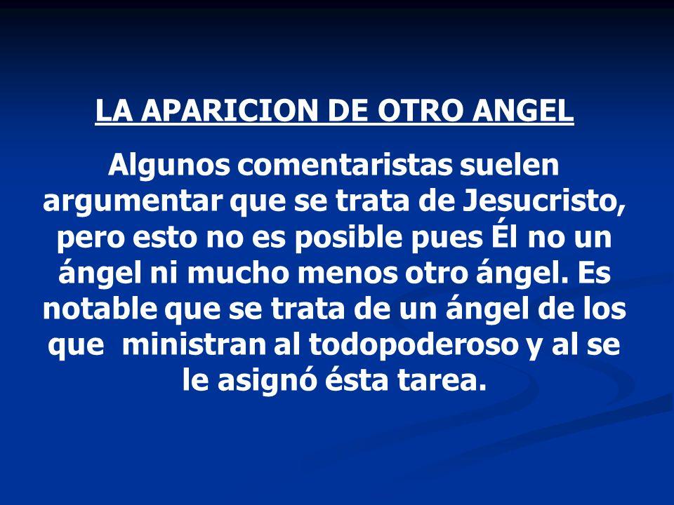 LA APARICION DE OTRO ANGEL