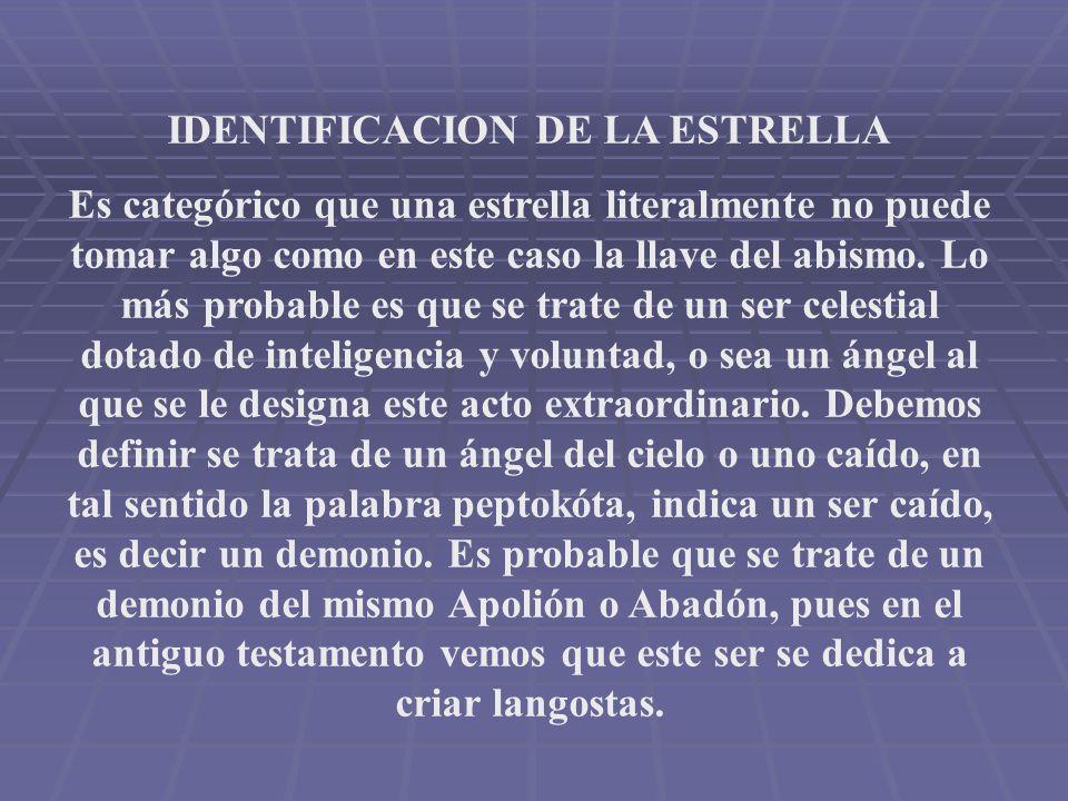 IDENTIFICACION DE LA ESTRELLA