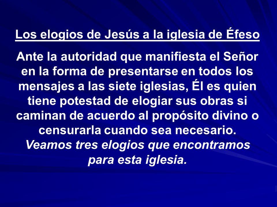 Los elogios de Jesús a la iglesia de Éfeso