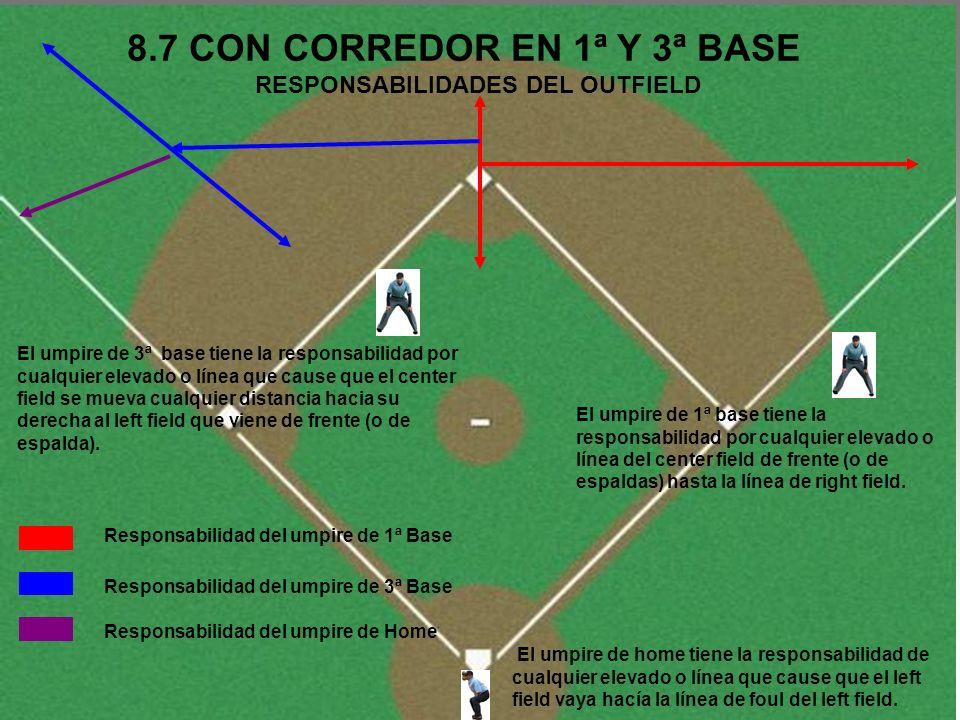 8.7 CON CORREDOR EN 1ª Y 3ª BASE