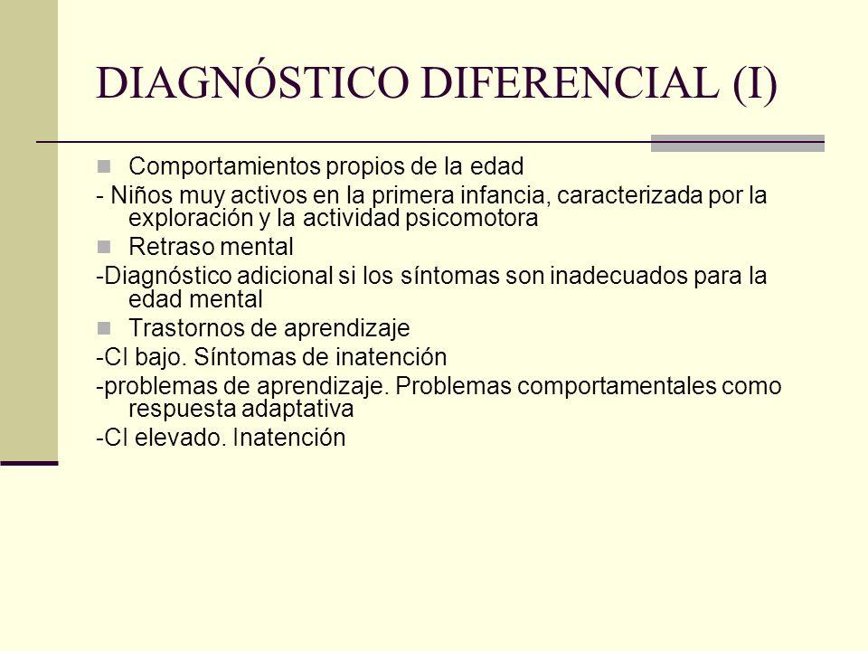 DIAGNÓSTICO DIFERENCIAL (I)