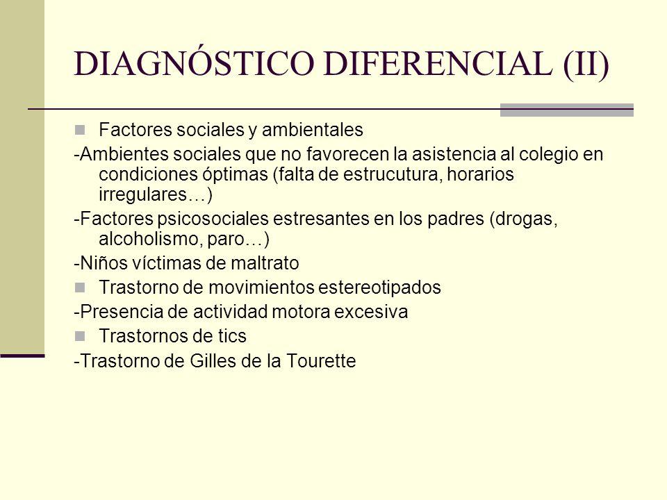 DIAGNÓSTICO DIFERENCIAL (II)