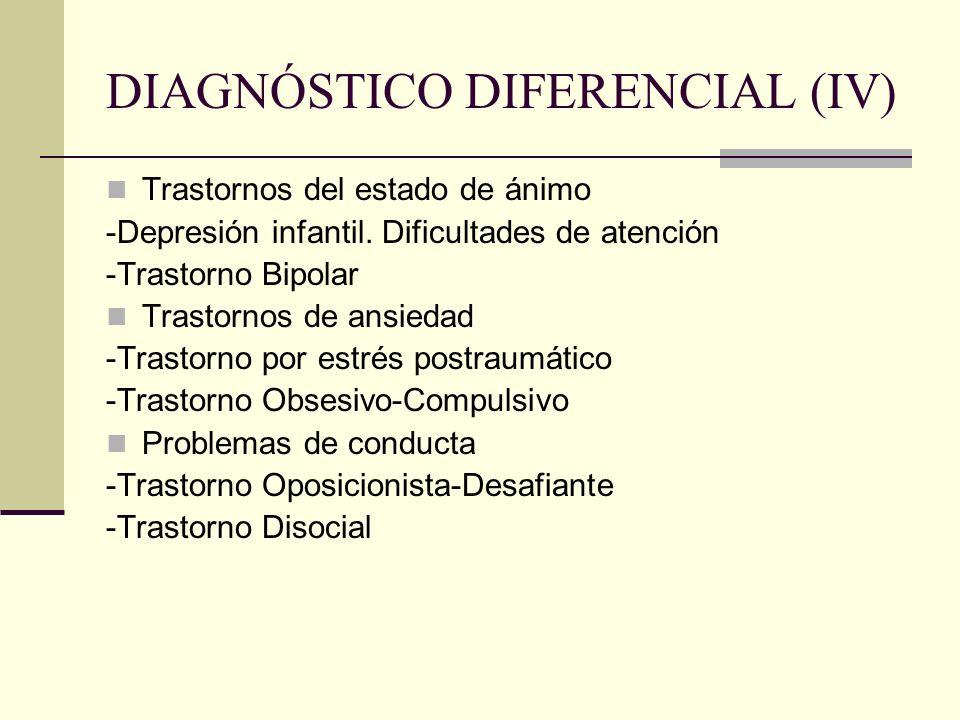 DIAGNÓSTICO DIFERENCIAL (IV)