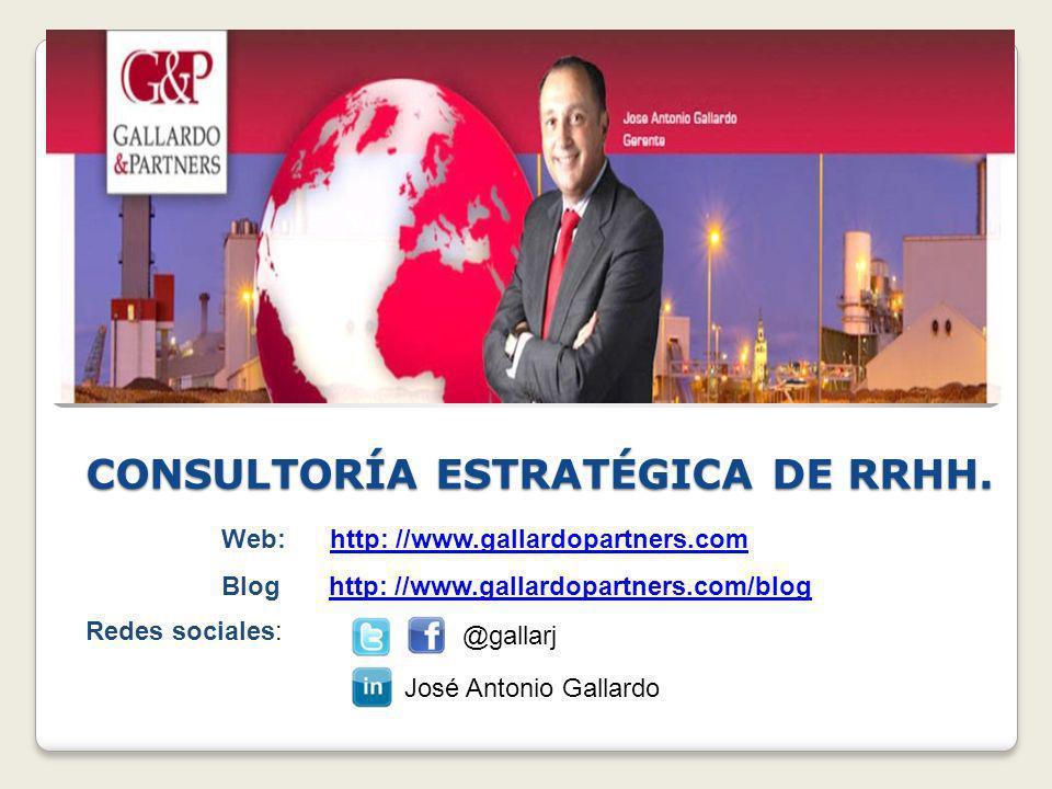 CONSULTORÍA ESTRATÉGICA DE RRHH.