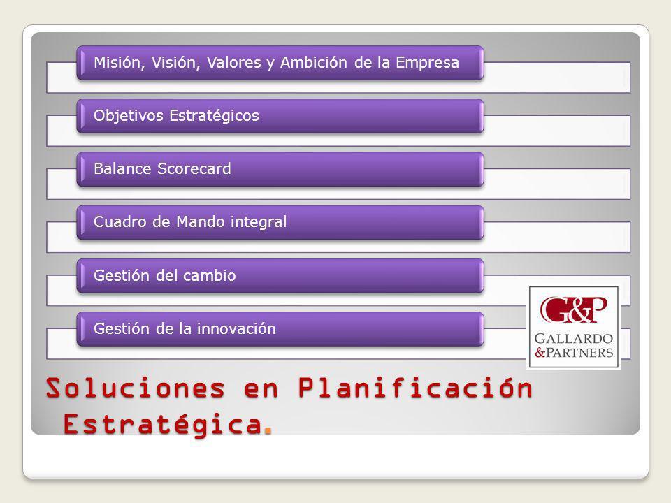 Soluciones en Planificación Estratégica.