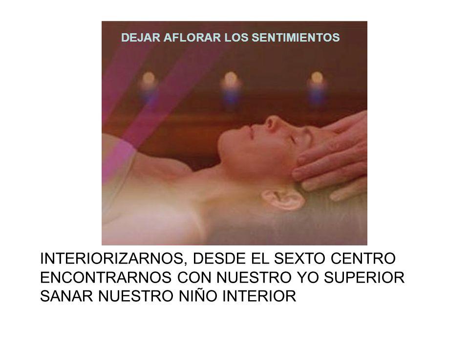 INTERIORIZARNOS, DESDE EL SEXTO CENTRO