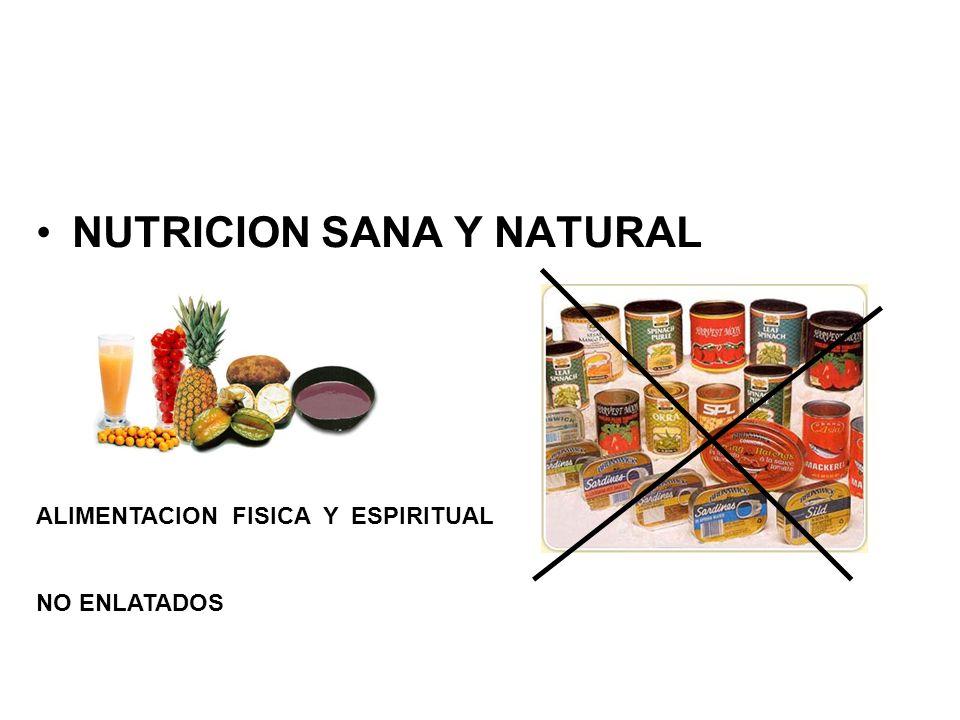 NUTRICION SANA Y NATURAL
