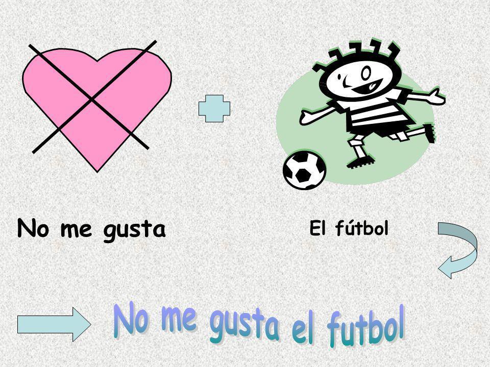 No me gusta El fútbol No me gusta el futbol
