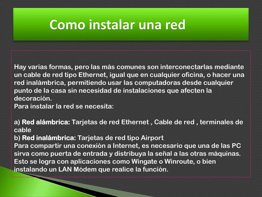 Diapositiva De Redes Informaticas Ppt Descargar