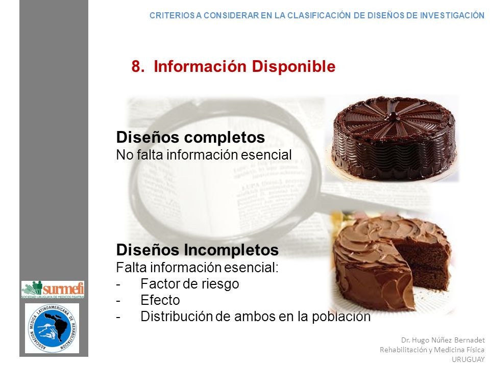 8. Información Disponible