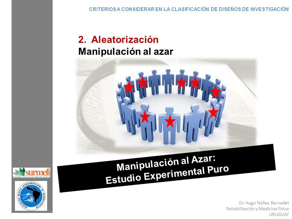Manipulación al Azar: Estudio Experimental Puro