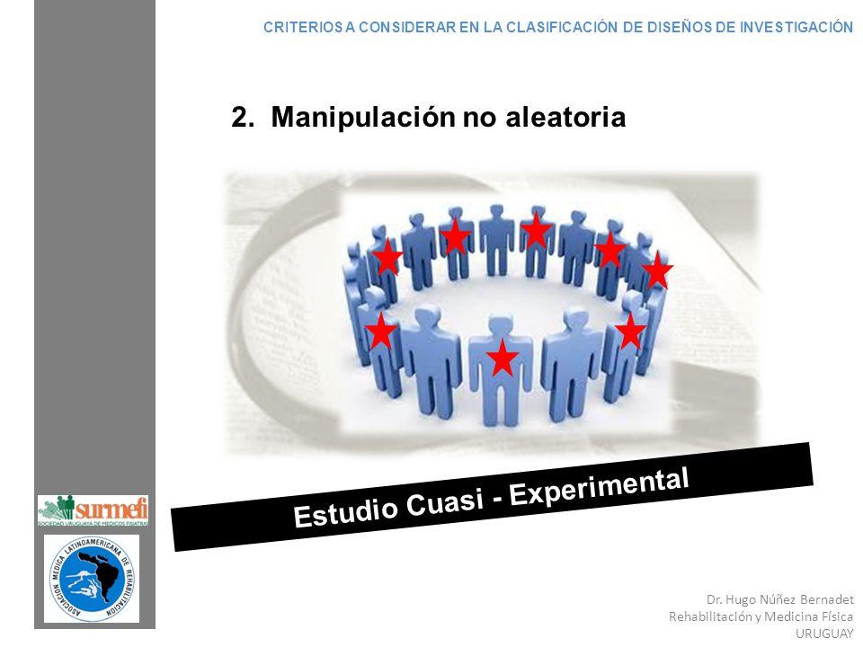 Estudio Cuasi - Experimental