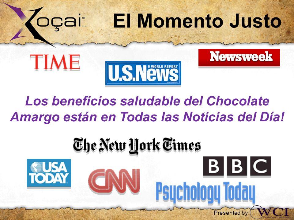 El Momento Justo Los beneficios saludable del Chocolate Amargo están en Todas las Noticias del Día!