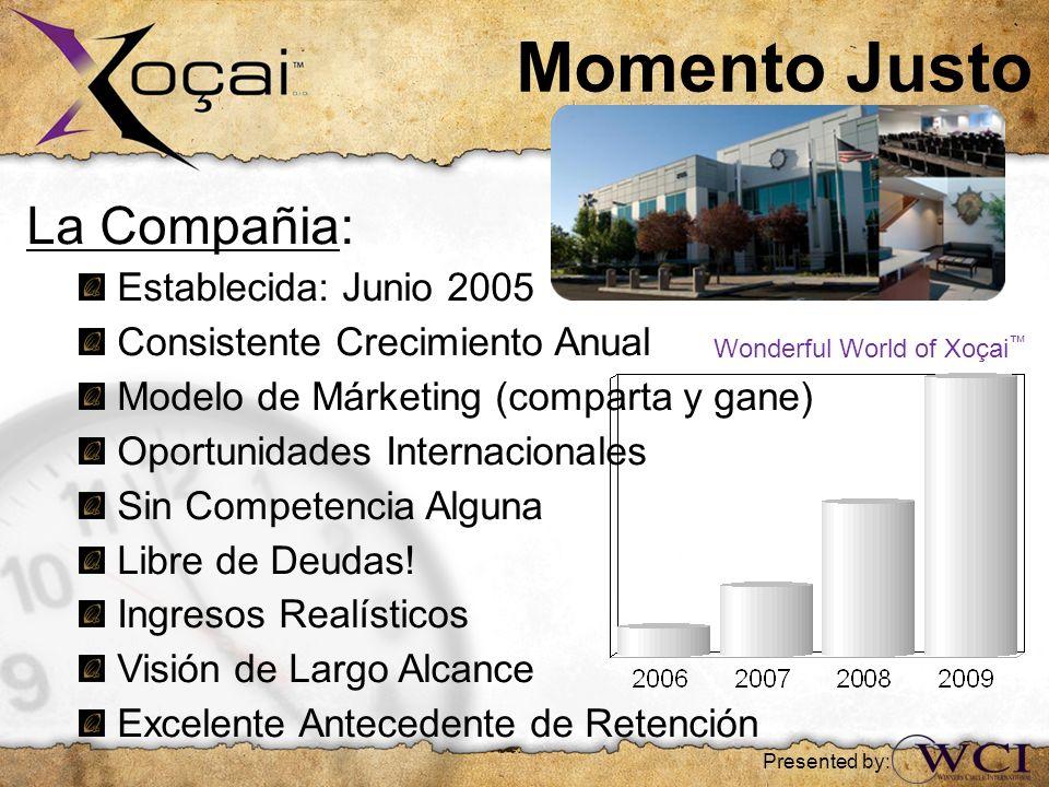 Momento Justo La Compañia: Establecida: Junio 2005