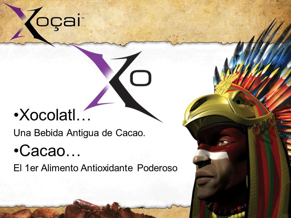 •Xocolatl… Cacao… Una Bebida Antigua de Cacao.