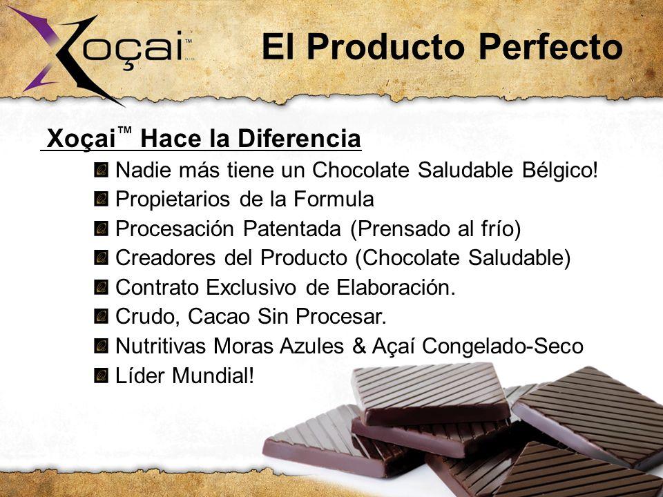 El Producto Perfecto Xoçai™ Hace la Diferencia: