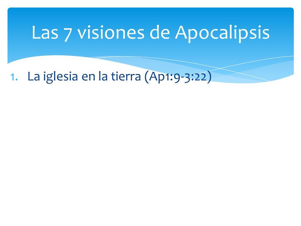 Las 7 visiones de Apocalipsis