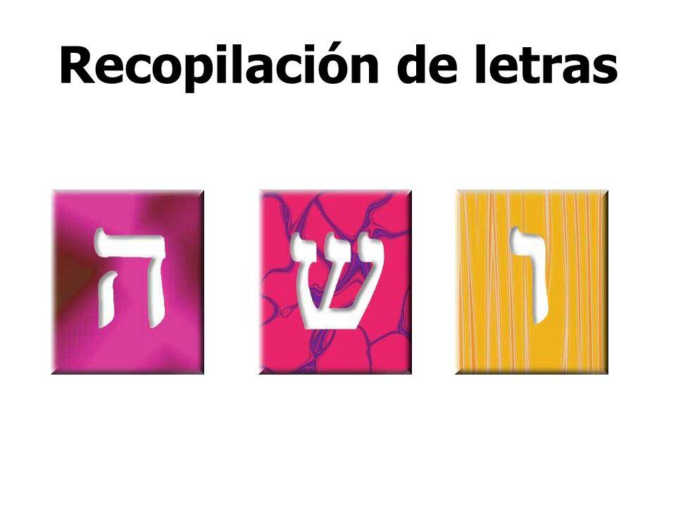 Recopilación de letras