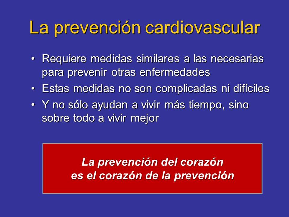 La prevención cardiovascular