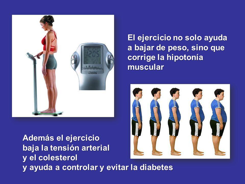 El ejercicio no solo ayuda a bajar de peso, sino que