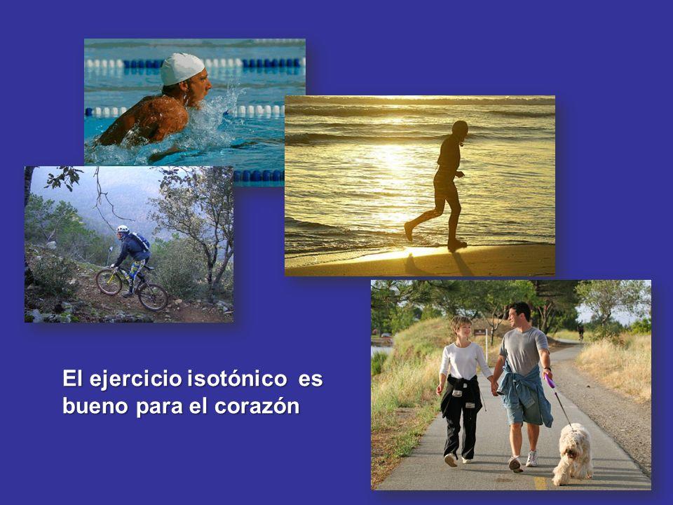 El ejercicio isotónico es bueno para el corazón
