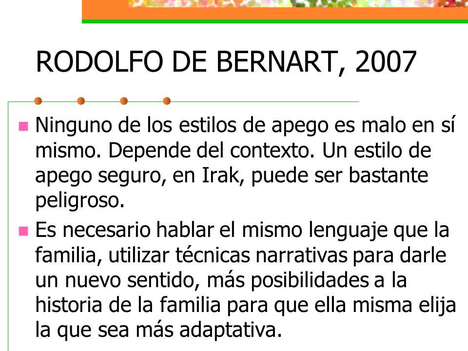 RODOLFO DE BERNART, 2007