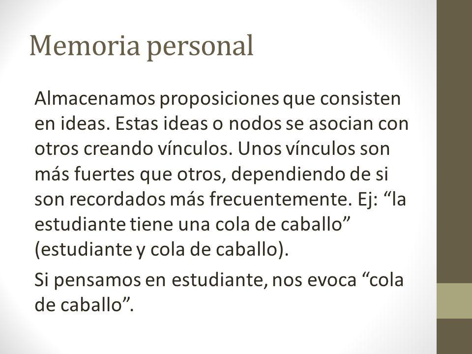 Memoria personal