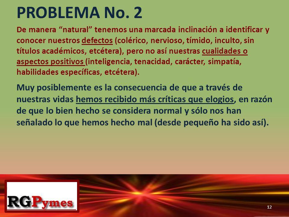 PROBLEMA No. 2