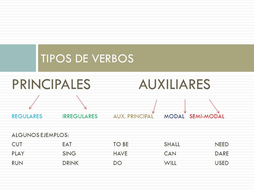 PRINCIPALES AUXILIARES