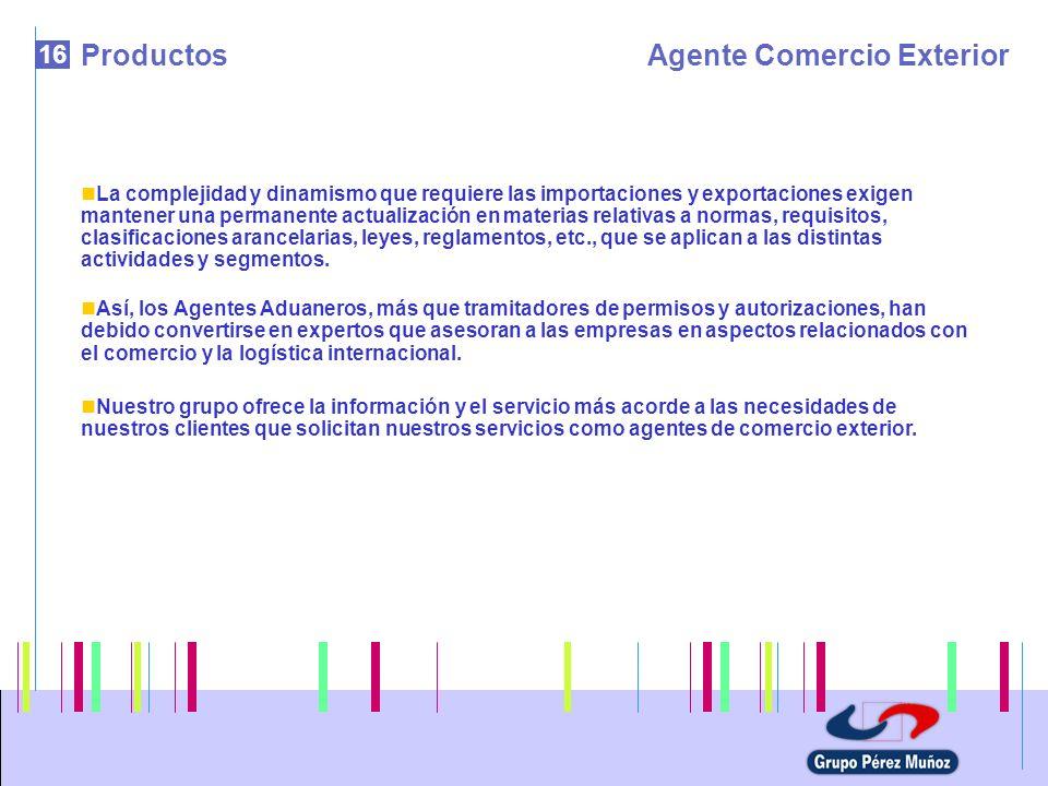 Agente Comercio Exterior