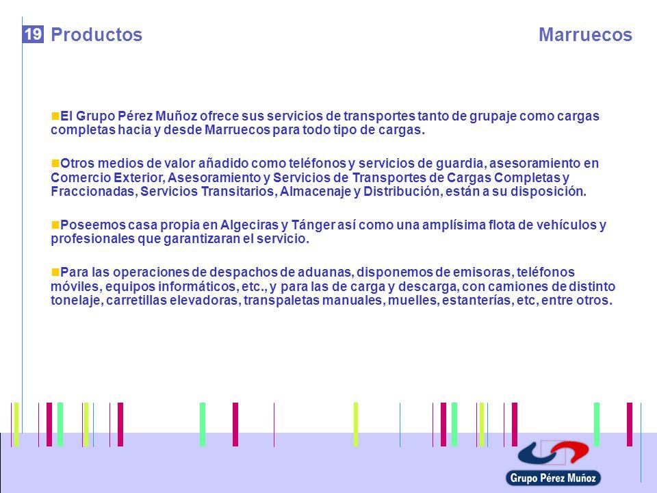 Productos Marruecos. 19.