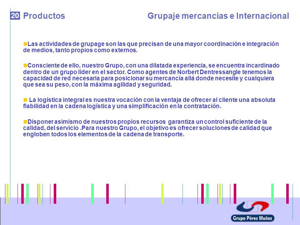 Grupaje mercancias e Internacional