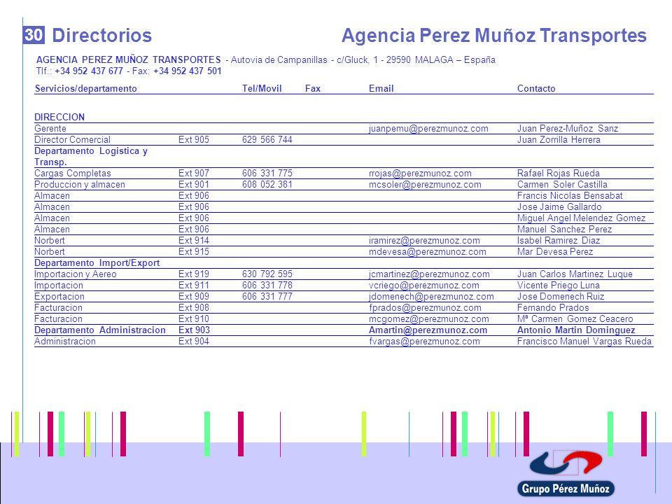 Agencia Perez Muñoz Transportes