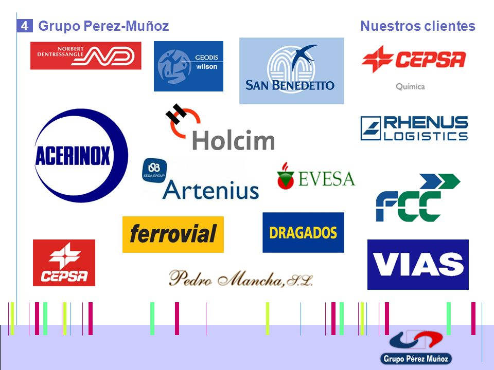Grupo Perez-Muñoz Nuestros clientes 4
