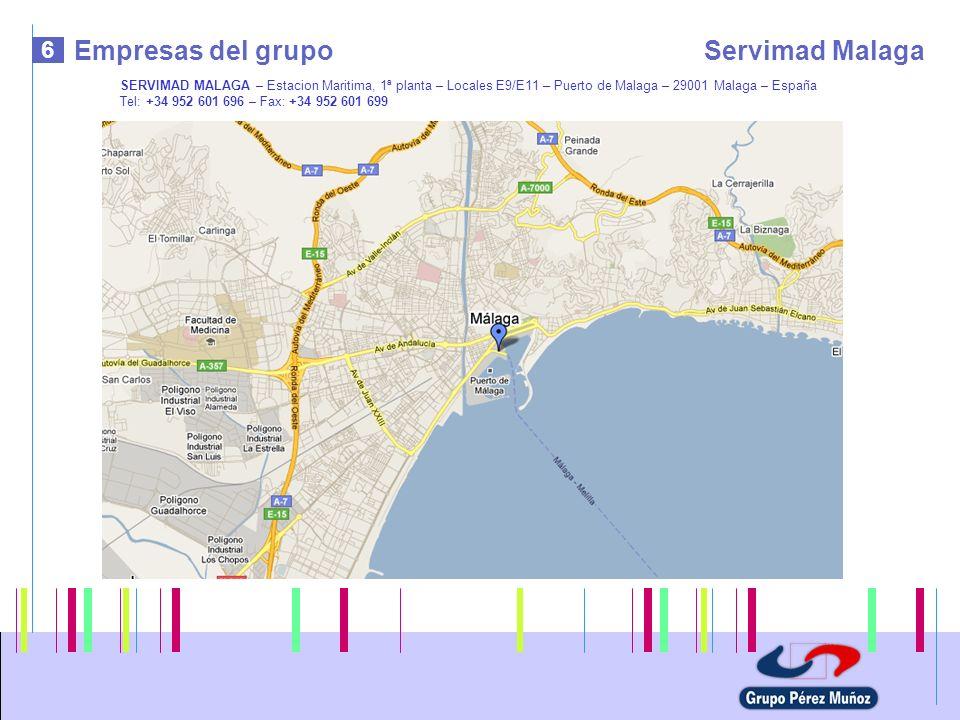 Empresas del grupo Servimad Malaga 6