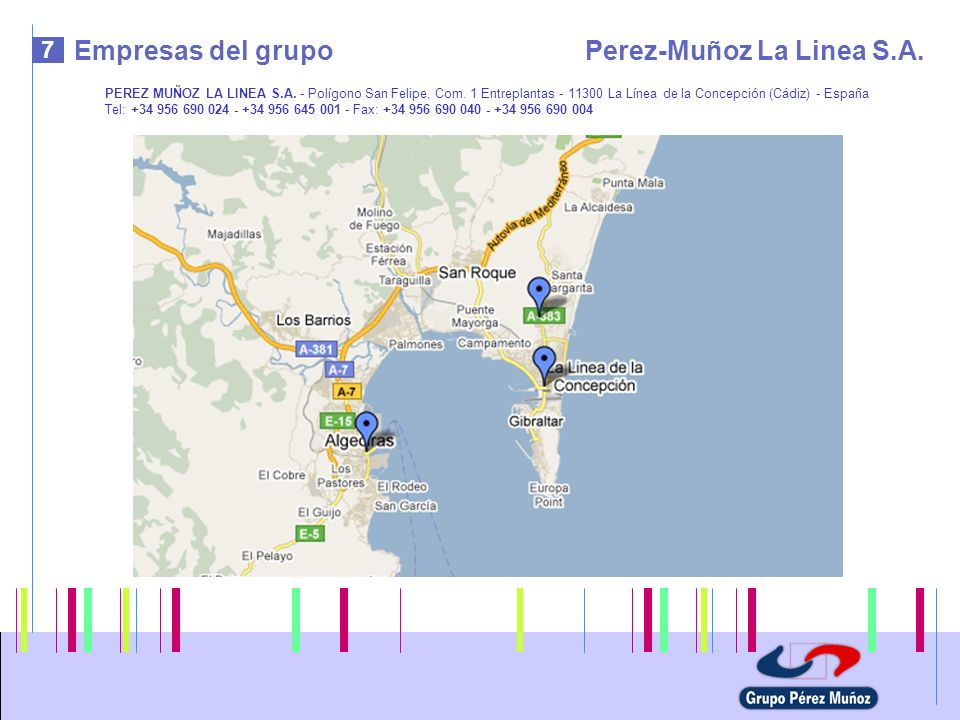 Perez-Muñoz La Linea S.A.