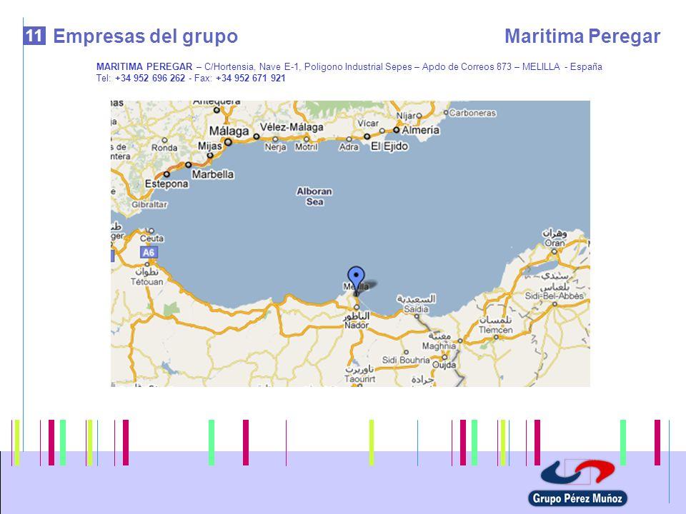 Empresas del grupo Maritima Peregar 11