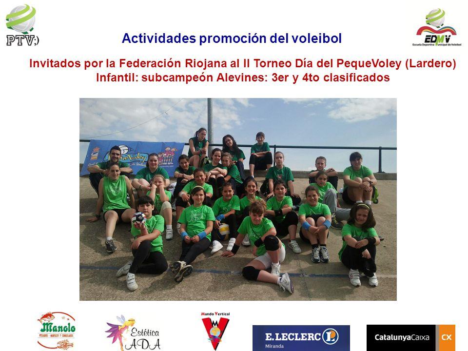 Actividades promoción del voleibol